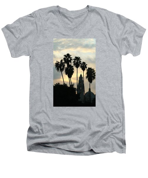 Balboa Park Museum Of Man Men's V-Neck T-Shirt