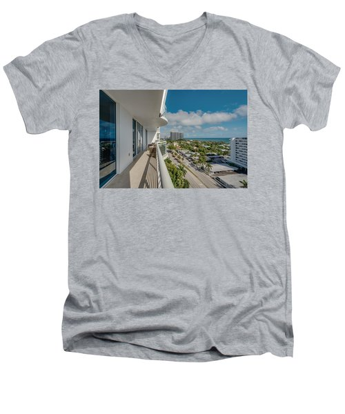 Balcony Life Men's V-Neck T-Shirt