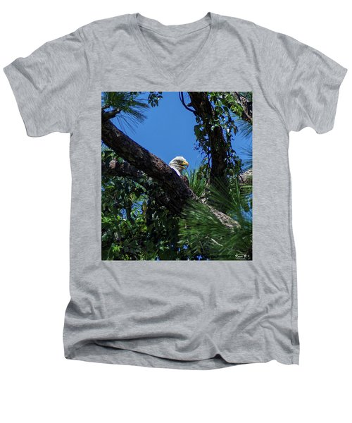 The Lookout  Men's V-Neck T-Shirt