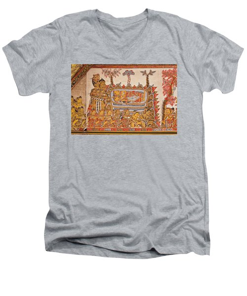 Bali_d530 Men's V-Neck T-Shirt