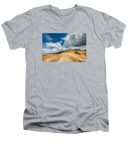 Ball Hills In Summer 3 Men's V-Neck T-Shirt