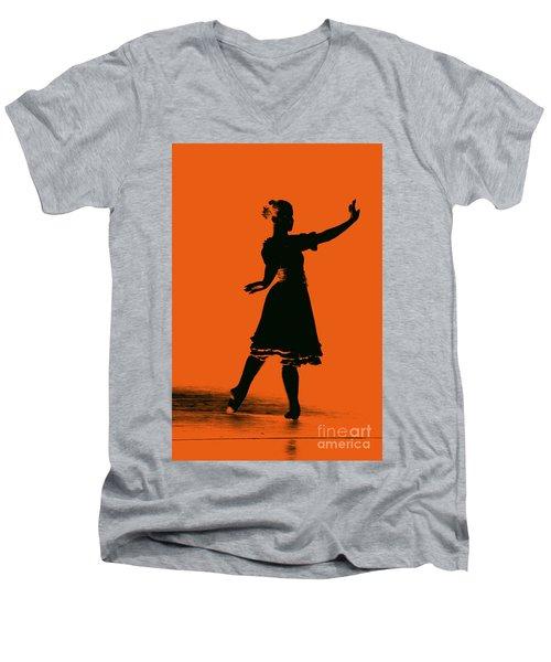 Ballet Girl Men's V-Neck T-Shirt