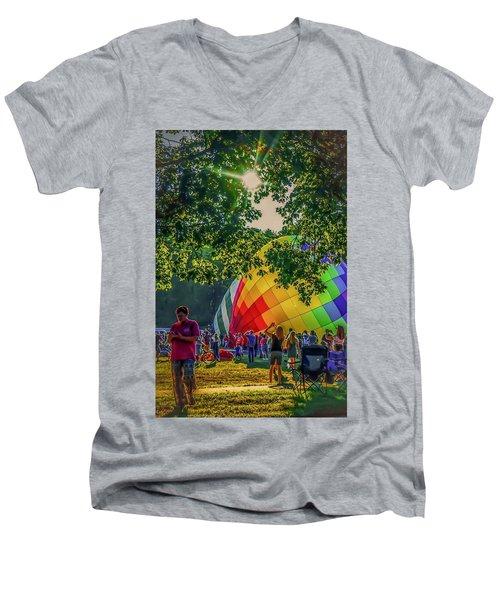 Balloon Fest Spirit Men's V-Neck T-Shirt