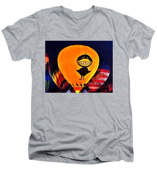 Balloon Festival Men's V-Neck T-Shirt