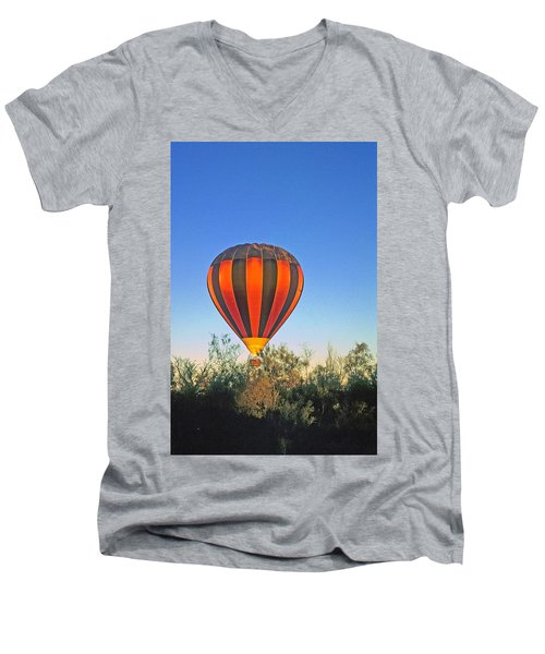 Balloon Launch Men's V-Neck T-Shirt