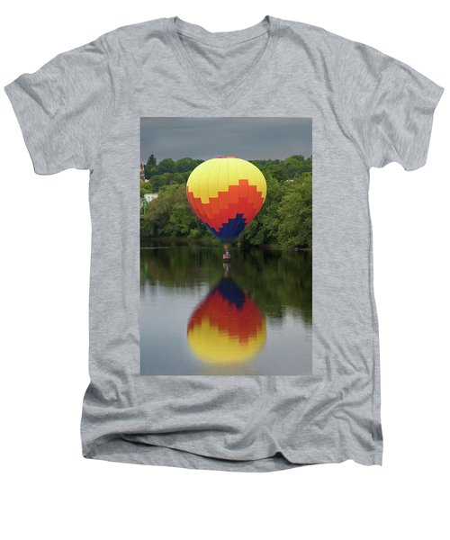 Balloon Reflections Men's V-Neck T-Shirt