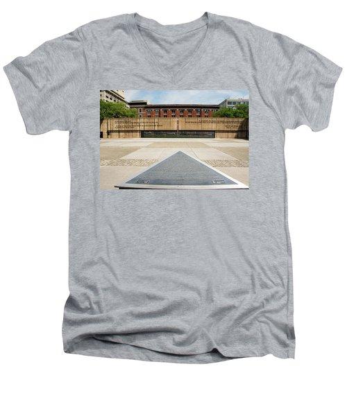 Baltimore Holocaust Memorial Men's V-Neck T-Shirt