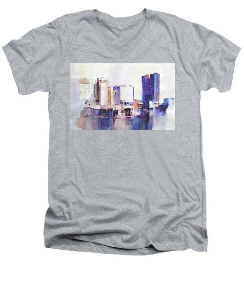 Baltimore Plaza Men's V-Neck T-Shirt
