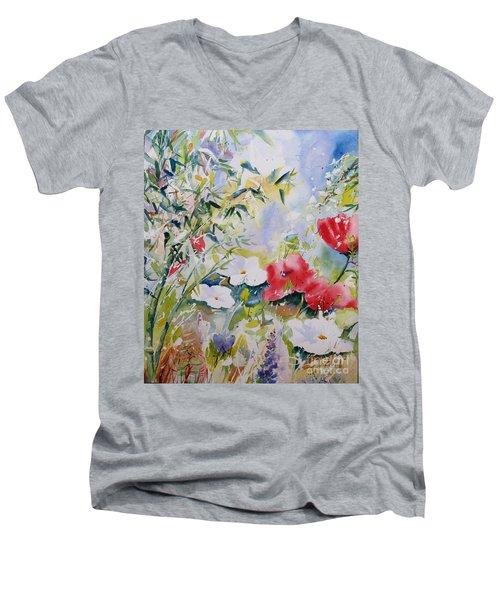 Bamboo Forest Men's V-Neck T-Shirt