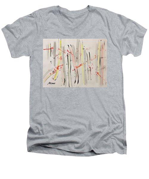 Bamboo2 Men's V-Neck T-Shirt