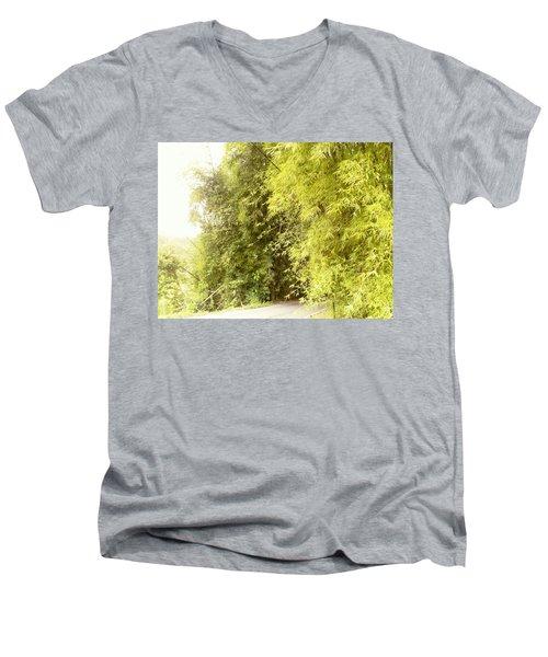 bambu en Limani, Adjuntas Men's V-Neck T-Shirt