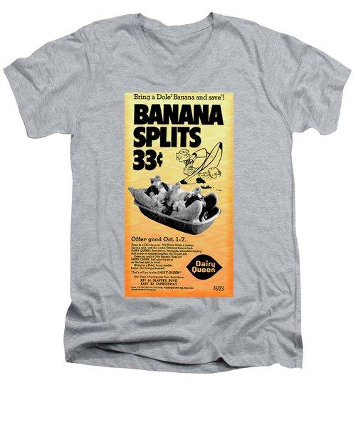 Banana Split Advertising 1973 Men's V-Neck T-Shirt