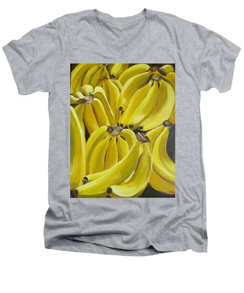 Bananas Men's V-Neck T-Shirt