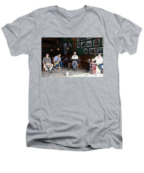 Band On Calle Ocho Men's V-Neck T-Shirt