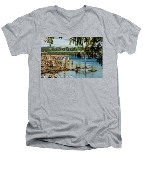 Bandon Drawbridge Men's V-Neck T-Shirt