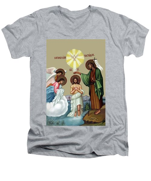 Baptism Men's V-Neck T-Shirt