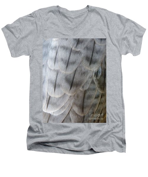 Barbary Falcon Feathers Men's V-Neck T-Shirt
