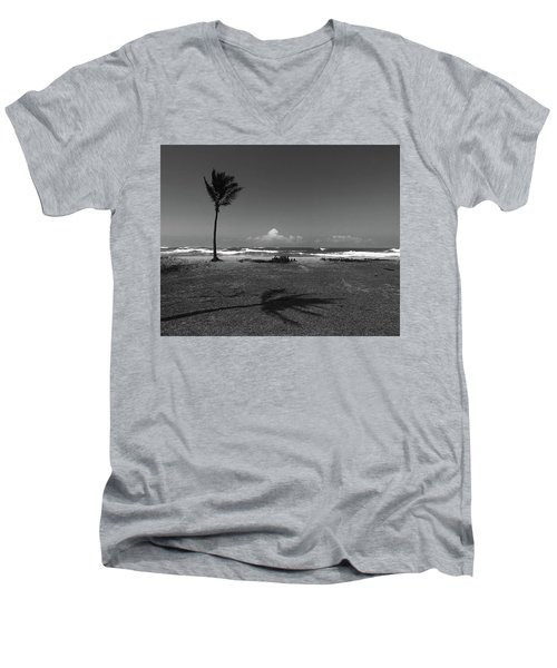 Barbers Pt., Oahu Men's V-Neck T-Shirt
