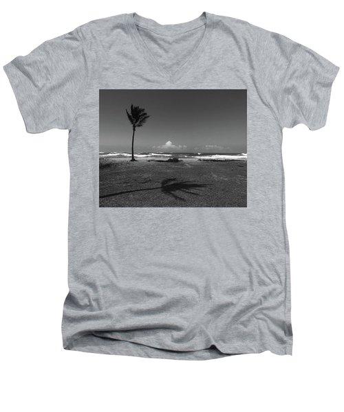 Barbers Pt., Oahu Men's V-Neck T-Shirt