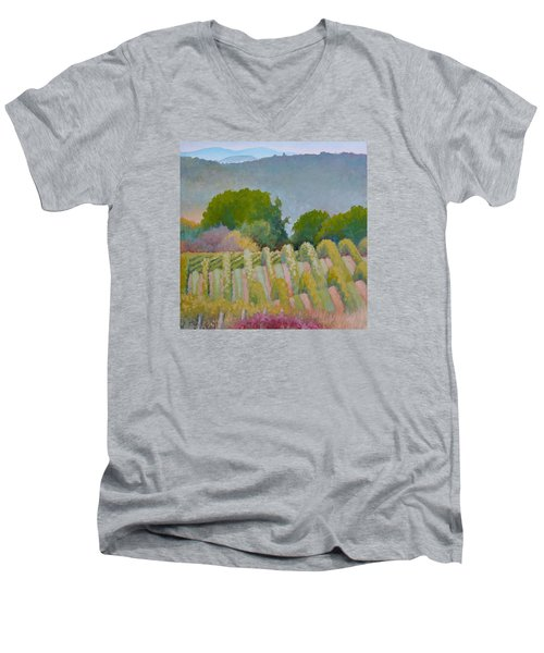 Barboursville Vineyards 1 Men's V-Neck T-Shirt by Catherine Twomey