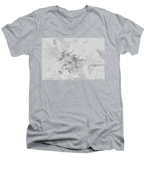 Barely There Men's V-Neck T-Shirt