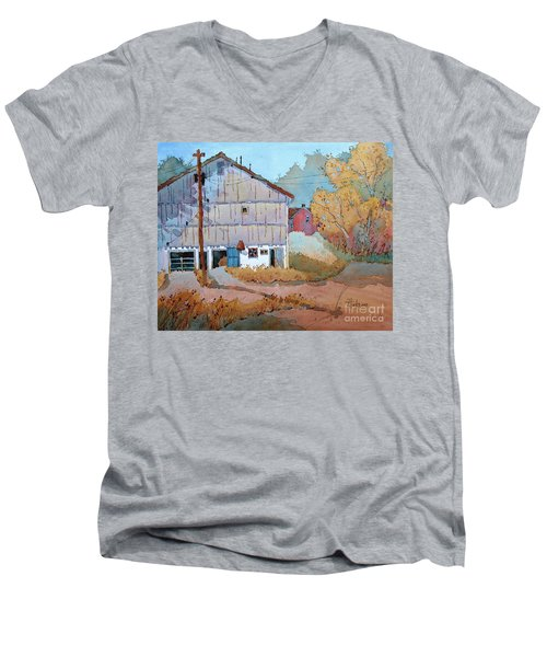 Barn Door Whimsy Men's V-Neck T-Shirt