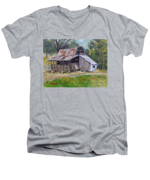 Barn Shack Men's V-Neck T-Shirt