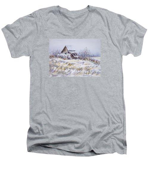 Barn Windmill Road Men's V-Neck T-Shirt