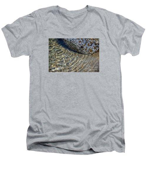 Barnacles And Reflection Men's V-Neck T-Shirt