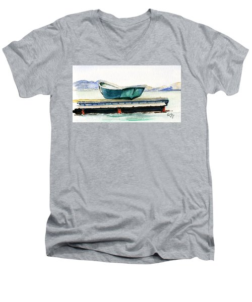 Barnstable Skiff Men's V-Neck T-Shirt