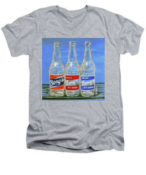 Barq's Trifecta Men's V-Neck T-Shirt