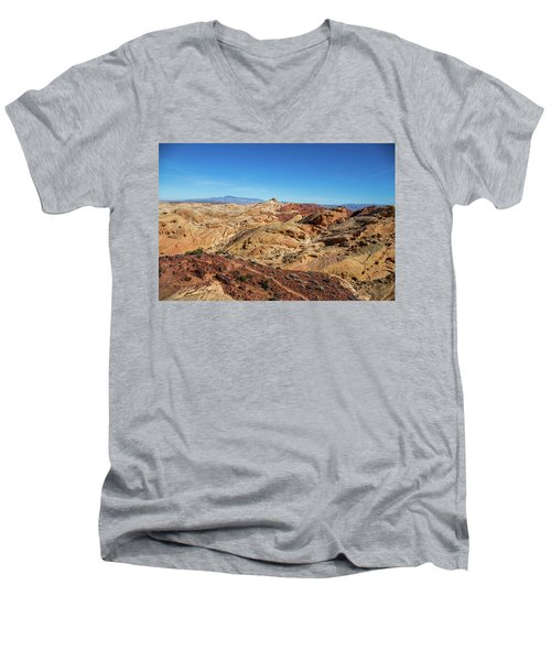 Barren Desert Men's V-Neck T-Shirt