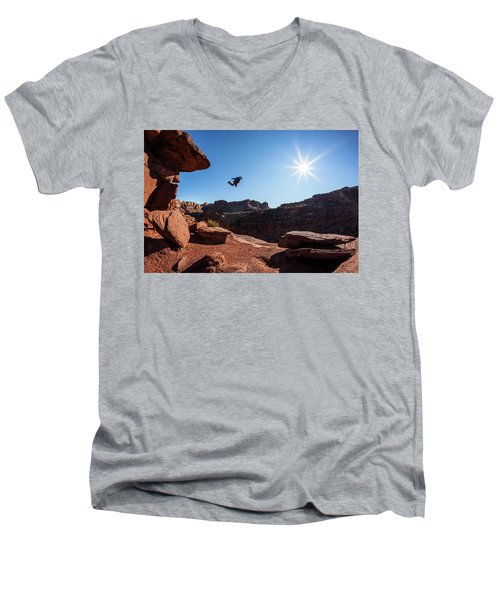 Base Jumper Men's V-Neck T-Shirt