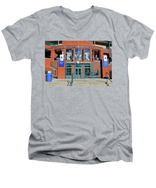 Baseball Stadium Men's V-Neck T-Shirt