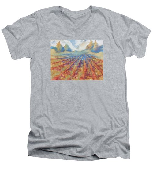 Basking Men's V-Neck T-Shirt