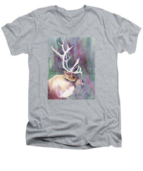 Basking In The Lights Men's V-Neck T-Shirt