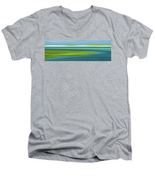 Bass Hole Men's V-Neck T-Shirt