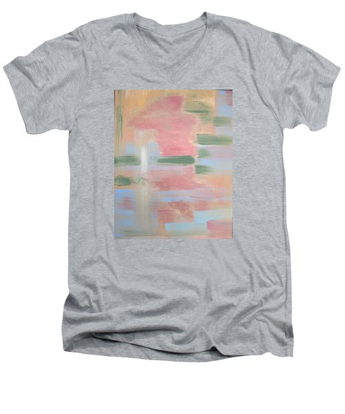 Bather Men's V-Neck T-Shirt by Tamara Savchenko