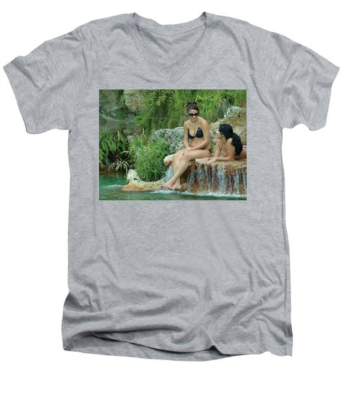 Bathing Beauties Men's V-Neck T-Shirt