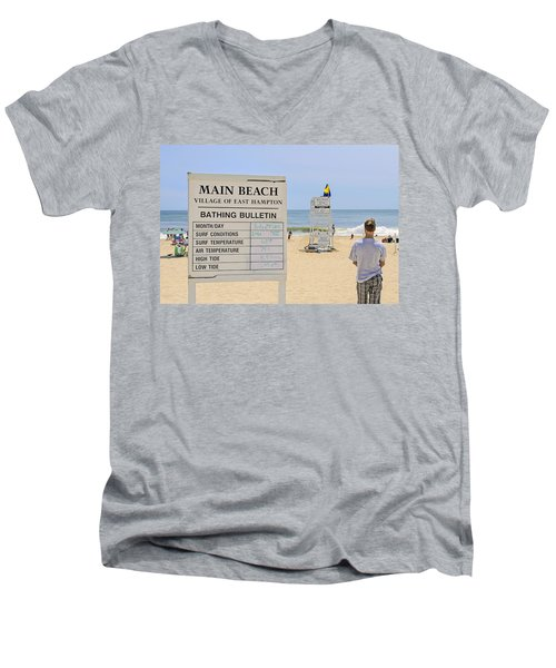 Bathing Bulletin Men's V-Neck T-Shirt