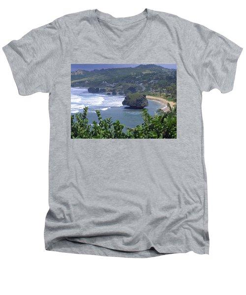 Bathsheba, Barbados Men's V-Neck T-Shirt
