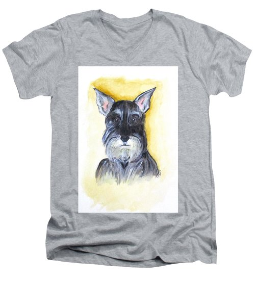 Batman Bouser Men's V-Neck T-Shirt by Clyde J Kell