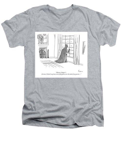 Batman Memoir Chapter 1 Men's V-Neck T-Shirt