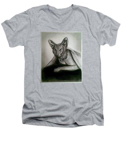 Battman Men's V-Neck T-Shirt