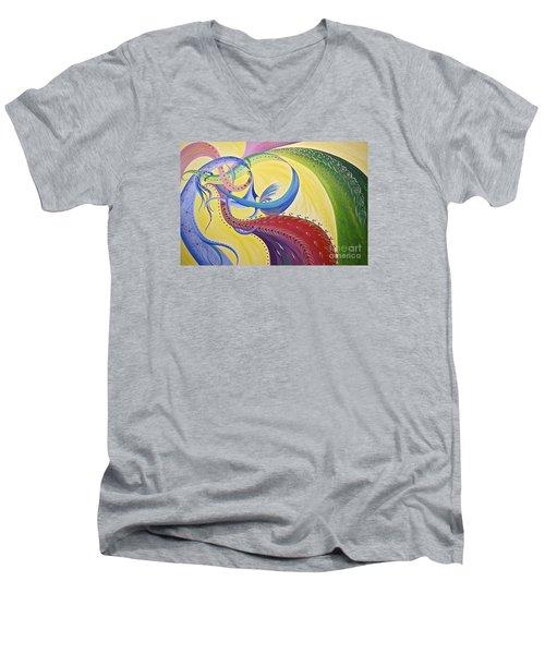 Baubles N Bows Men's V-Neck T-Shirt