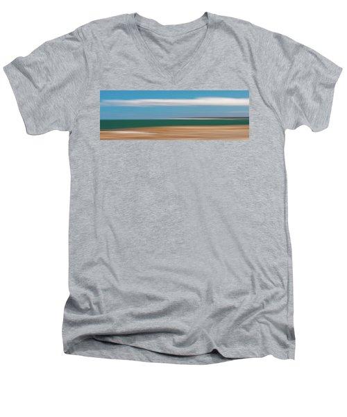 Bay Cloud Men's V-Neck T-Shirt