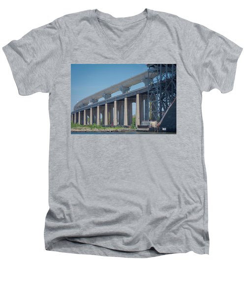 Bayonne Bridge Raising #5 Men's V-Neck T-Shirt