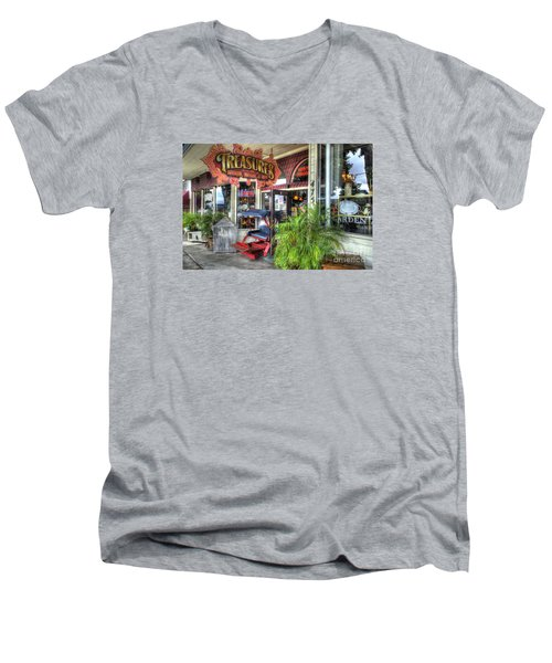 Baytown Treasures Men's V-Neck T-Shirt