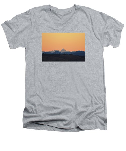 B C Dawn Men's V-Neck T-Shirt