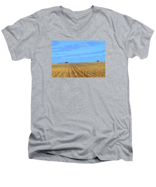 Be Still And ... Men's V-Neck T-Shirt